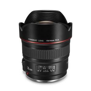 【顺丰包邮】永诺 YN14mm F2.8 超广角定焦镜头 佳能口