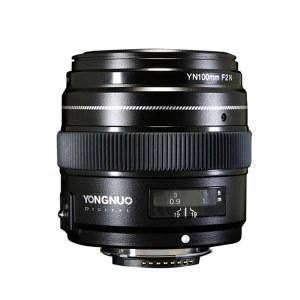 永诺 YN100mm F2N 中远摄定焦单反相机镜头 尼康口【顺丰包邮】