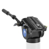 思锐碳纤维支架 R5214X+VH15 单反相机摄影液压云台 摄像机三脚架
