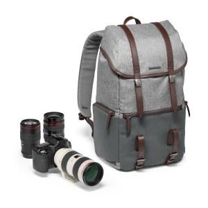 曼富图温莎系列相机电脑两用双肩背包(单反适用)中型单肩包MB LF-WN-MM
