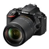 尼康单反相机 D5600 入门级VR家用旅游自拍数码照相机