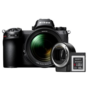 Nikon/尼康 Z6 全画幅微单相机 Z6 24-70mm+FTZ卡口适配器+32G XQD卡