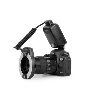 永诺 YN14EX 微距环形闪光灯 佳能口 支持TTL功能,适用于口腔拍摄【顺丰包邮】