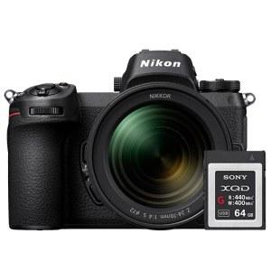 Nikon/尼康 Z7 全画幅微单相机 24-70套机+64G XQD卡