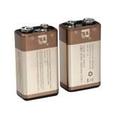 沣标 9V充电电池套装 充电器配2节6F22九伏电池