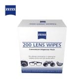 蔡司(ZEISS)专业光学拭镜纸 擦镜纸 眼镜 相机镜头清洁湿巾 2片装