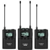 科唛CVM-WM200A UHF全金属一拖二无线麦克风(AA电池版)
