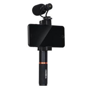 科唛 COMICA 全金属X心型迷你麦克风CVM-VM10 手机 运动相机 微单通用