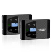 COMICA/科唛 CVM-WS60 COMBO UHF 一拖二无线多功能迷你麦克风(相机、手机通用)