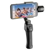 Freevision 维圣 运动相机云台稳定器VILTA G 三轴防抖云台GoPro运动防抖摄影器材 黑色