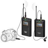 COMICA/科唛 CVM-WM100 PLUS 48频无线一拖二麦克风
