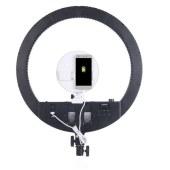 永诺YN808 led环形补光灯摄像灯 手机支架直播美颜灯