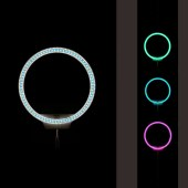 【顺丰包邮】永诺 YN608RGB 美颜自拍灯LED摄影灯全彩补光灯可调色温常亮灯外拍灯