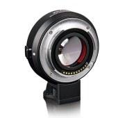 唯卓EF-E II转接环佳能EF镜头转索尼微单e卡口 黑色