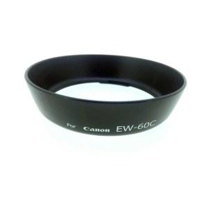 佳能 罩 遮光EW-60C遮光罩佳能18-55镜头遮光罩58MM遮光罩