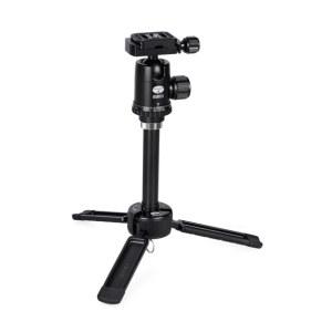 思锐 三脚架 3T-35K反折单反相机桌面脚架 迷你便携 微单通用 黑色