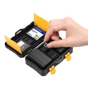 沣标 FB-SCB08 内存卡盒 电池盒 加厚加硬SD CF TF XQD存储卡盒