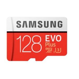 三星 128GB TF(MicroSD)存储卡 U3 4K EVO升级版+ 读速100MB/s 写速90MB/s 支持4K高品质拍摄