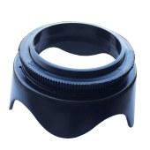 螺口遮光罩 适马 腾龙 宾得 索尼 佳能 尼康镜头通用遮光罩 可反装 莲花型遮光罩  58mm