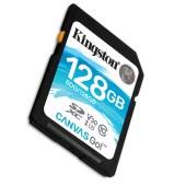 金士顿  128GB SD 存储卡 U3 C10 V30 专业版 读速90MB/s 写速45MB/S 支持4K 高品质拍摄 终身保固