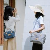 索尼微单a6000佳能80d相机包帆布单反单肩包斜挎包手提摄影包