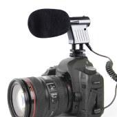 博雅   BY-VM01 单反相机 摄像机 DV迷你麦克风录音话筒 黑色