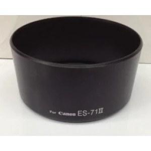 ES-71 II遮光罩 佳能EF 50mm f/1.4 USM lens 镜头专用遮光罩