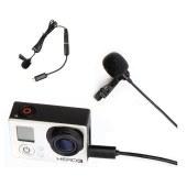 博雅  BY-LM20 运动摄像机Gopro话筒 专业领夹式麦克风配件