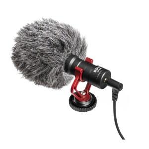 博雅 BY-MM1 单反微单相机摄像机录音话筒麦克风索尼微单佳能相机话筒尼康单反机顶采访麦克风