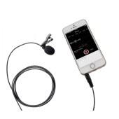 博雅 BY-LM10 苹果 安卓 手机直播 视频摄像录音 领夹麦克风 录像话筒 黑色