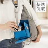 单反相机包双肩轻便大容量背包男女微单佳能尼康户外帆布摄影包