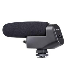 博雅 BY-VM600 5D4 D850单反相机摄像机 DV采访麦克风录音话筒 黑色