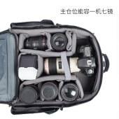阿尔飞斯 户外摄影包双肩单反专业摄像机背包佳能尼康单反相机包
