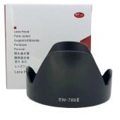 佳能EW-78BII遮光罩28-135mm f/3.5-5.6 ISUSM镜头反扣遮阳罩72mm