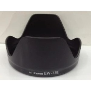 佳能遮光罩 EW-78E 遮光罩 佳能15-85镜头适用 单反相机遮光罩