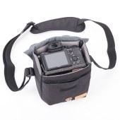 微单相机包富士XT20索尼A6300便携佳能M6单肩摄影包斜跨包M100