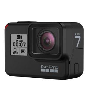 GoPro HERO7 Black黑色 运动相机摄像机vlog 4K户外水下潜水视频直播 摄像机
