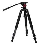miliboo米泊 铁塔MTT701B碳纤维三脚架 单反长焦相机摄像机