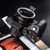 唯卓 EF-NEXIV 四代转接环佳能镜头转索尼e卡口a7a9a7r微单自动对焦