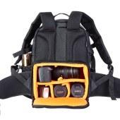 通霸  专业单反相机包双肩摄影包大容量防盗多功能数码包 户外休闲电脑包
