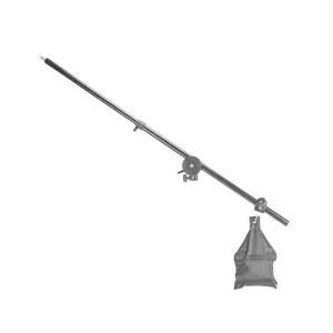 摄影横臂支架小型摄影灯2m小灯架单独加粗摄影灯架横杆顶灯架悬臂便携硫酸纸横臂架万向转接轮250W摄影顶灯架