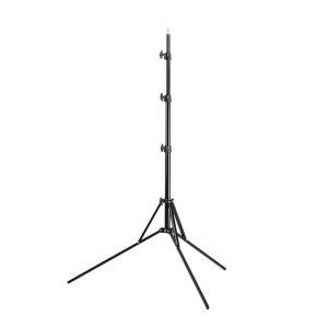 折叠灯架L2400A 摄影灯闪光灯支架配件 外拍灯便携三角架子2.2米
