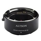 Altson 奥特逊CEF-NZ 自动高速对焦智能转接环 佳能EF/EF-S镜头转尼康Z卡口