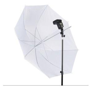 43寸柔光伞柔光棚反光伞白色影楼伞人像闪光灯柔光通用摄影器材 摄影伞