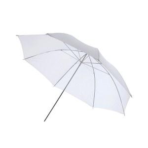 33寸柔光伞84cm摄影伞闪光灯反光伞拍照补光人像便携透伞 柔光伞