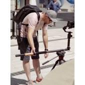 魔爪 (MOZA) 魔杖Slypod多功能云台 稳定器电动滑轨 伸缩摇臂独脚架 迷你伸缩炮