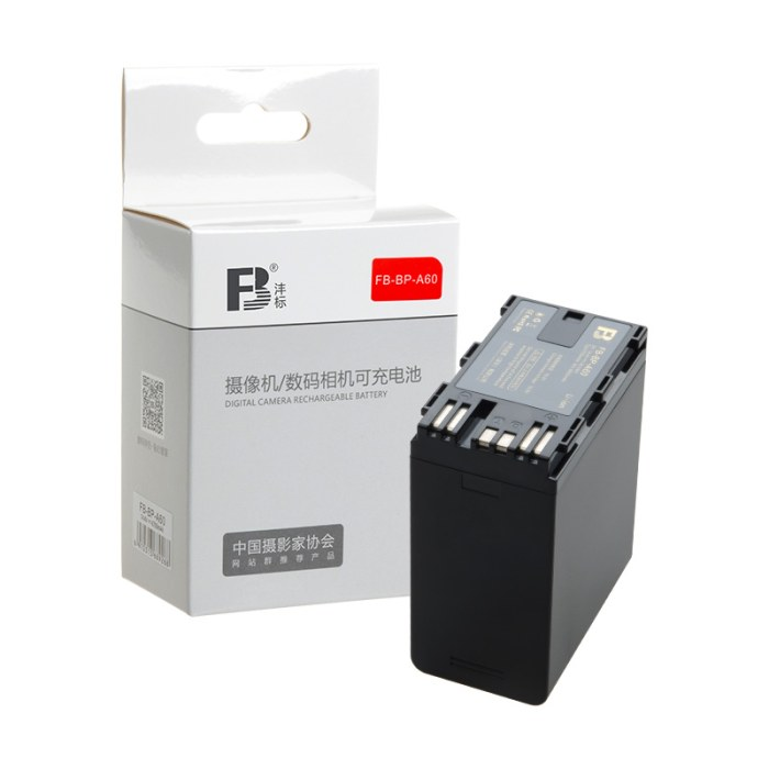 佳能镜头编号_沣标(FB)BP-A60 摄像机电池 佳能EOS C300 Mark II 二代 C200B A30 FB-BP-A60 ...