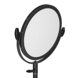 利帅 C-300RS LED摄像灯摄影灯单反摄像机微电影专业视频影视补光灯圆饼灯人像打光灯