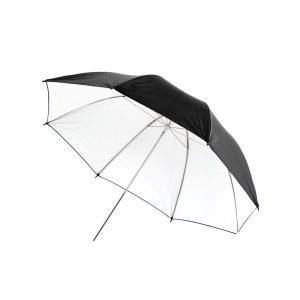 摄影拍照反光伞43寸外黑内白便携反光伞柔光伞摄影灯人像拍摄 机顶灯影棚灯拍照反光伞证件照 静物照 人像照