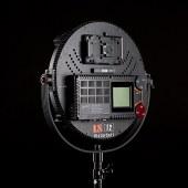 利帅 VR1200 摄影灯led补光灯大功率影视灯柔光灯电影专业led摄像灯人像视频打光灯圆饼灯